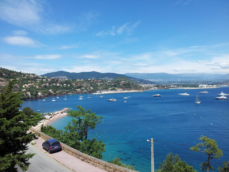 Uitzicht Villa Bonaparte